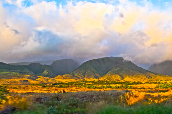 travel photographs of Hawaii