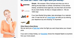 cheapest flight search engine