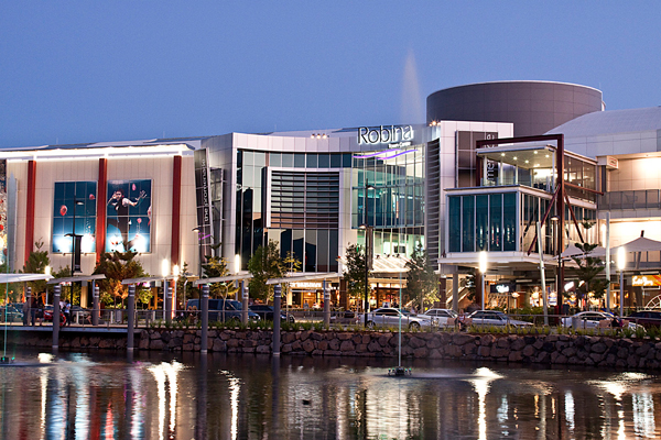 Gold coast shopping centre's
