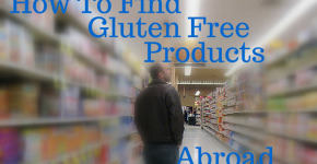 gluten free products abroad
