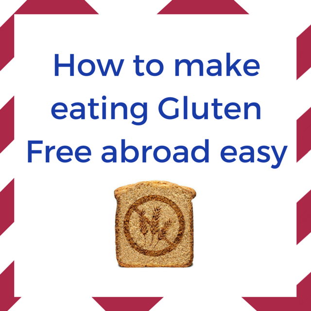 eating Gluten free abroad