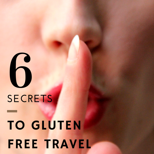 travelling on a gluten free diet